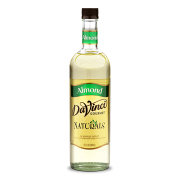 DaVinci Natural Almond Flavored Syrup (700mL) - PET Bottle