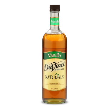 DaVinci Natural Vanilla Flavored Syrup (700mL) - PET Bottle