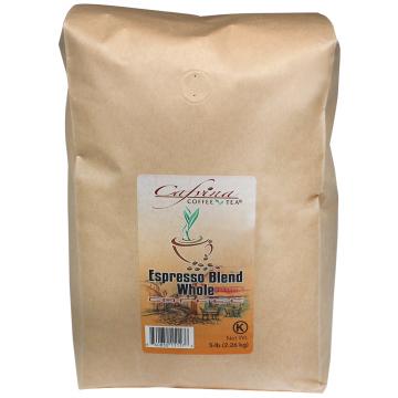 Cafvina Espresso Blend - Whole Bean (5 lbs), F1000