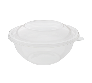 Karat 32oz PET Plastic Salad Bowl - 300 ct