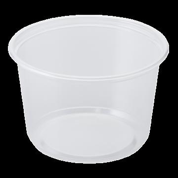 Karat 16oz PP Plastic Deli Containers - 500 ct