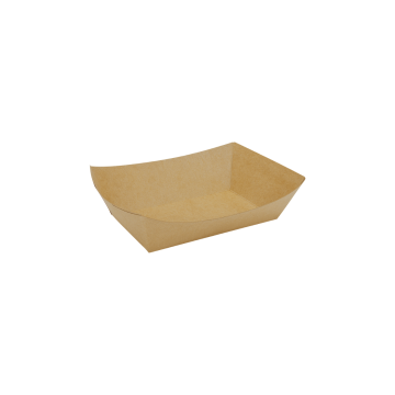 Karat Food Tray (Kraft) - 2.0 lb