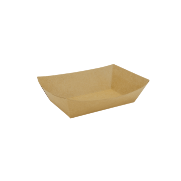 Karat Food Tray (Kraft) - 2.5 lb