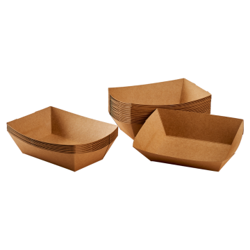 Karat Food Tray (Kraft) - 3.0 lb