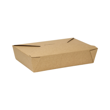 Karat 54 fl oz Fold-To-Go Box #2 - Kraft - 200 ct