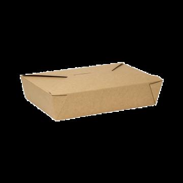 Karat 54 fl oz Fold-To-Go Box #2 - Kraft - 200 ct