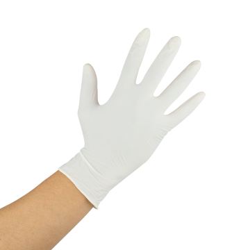 Karat Latex Powdered Gloves (Clear) - Large - 1,000 ct, FP-GL1013