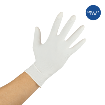 Karat Latex Powdered Gloves (Clear) - Small - 1,000 ct