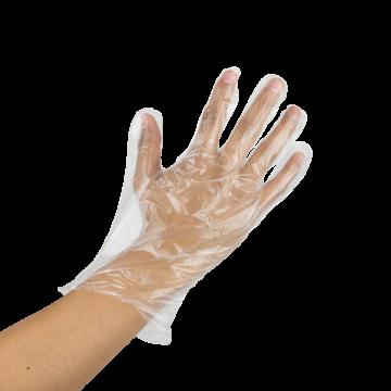 Karat Poly Gloves (Clear) - Large - 2,000 ct