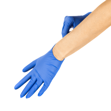 Synthetic Vinyl Powder-FREE Glove (Blue) - Small - 1,000 ct