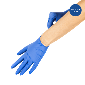 Synthetic Vinyl Powder-FREE Medical Examination Glove (Blue) - Medium - 1,000 ct