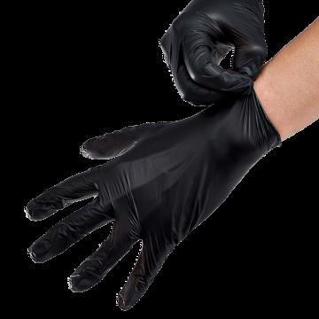 Synthetic Vinyl Powder-FREE Glove (Black) - Small - 1,000 ct