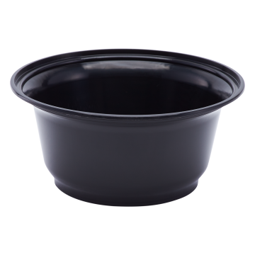 Karat 36oz PP Plastic Injection Molding Bowl - Black - 300 ct