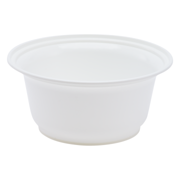Karat 36oz PP Plastic Injection Molding Bowl - White - 300 ct