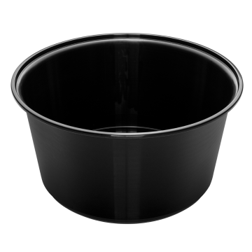 Karat 48oz PP Injection Molding Bowl (Black) - 300 ct