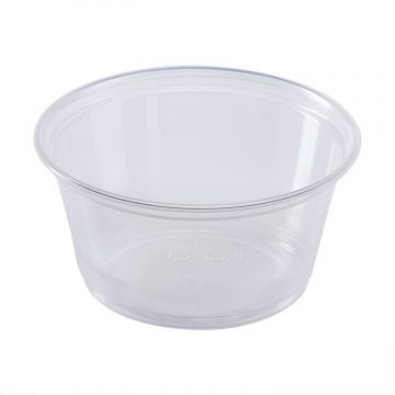 Karat 3.25oz PP Plastic Portion Cups - Clear - 2,500 ct