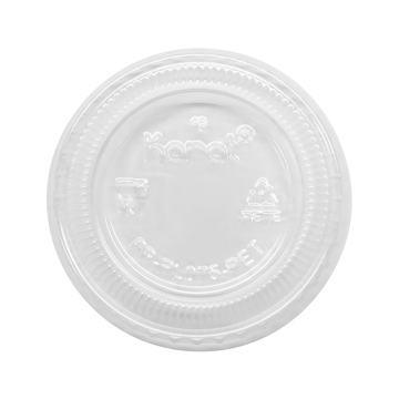 Karat 3.25 - 5.5oz PET Portion Cup Lids - 2,500 ct