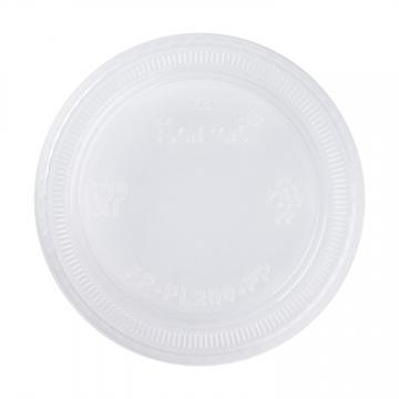 Karat 1.50oz. & 2oz PP Plastic Portion Cup Lids - 2,500 ct