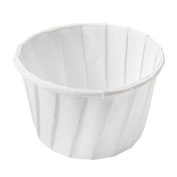 Karat 3.25oz Paper Portion Cups - 5,000 ct