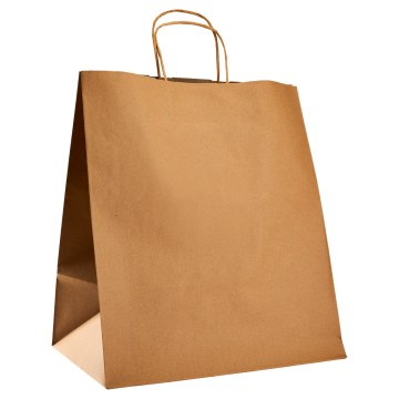 Karat Huntington Paper Shopping Bag with Twisted Handles - 200 ct
