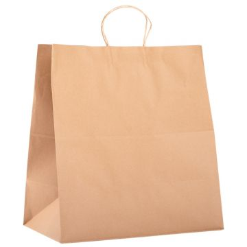 Karat Newport Paper Shopping Bag with Twisted Handles - 150 ct