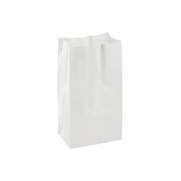 Karat 4lb Paper Bag - White - 2,000 ct