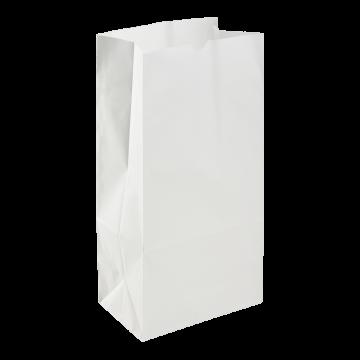Karat 8lb Paper Bag - White - 1,000 ct