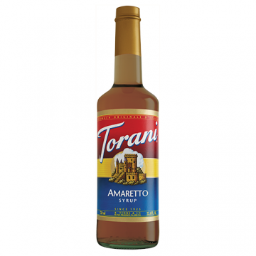 Torani Amaretto Syrup (750 mL), G-Amaretto
