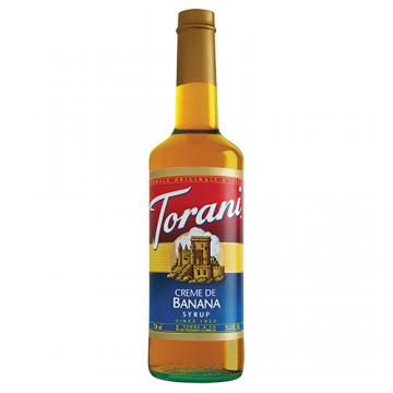 Torani Creme de Banana Syrup (750 mL), G-Banana
