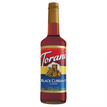 Torani Black Currant Syrup (750 mL), G-Black Currant
