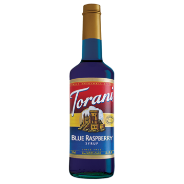 Torani Blue Raspberry Syrup (750 mL)