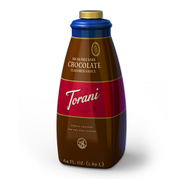 Torani Sugar Free Dark Chocolate Sauce (64oz)