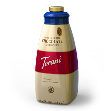 Torani Sugar Free White Chocolate Sauce (64oz), G-Chocolate-WMS-sf