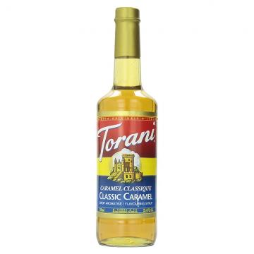 Torani Classic Caramel Syrup (750 mL)