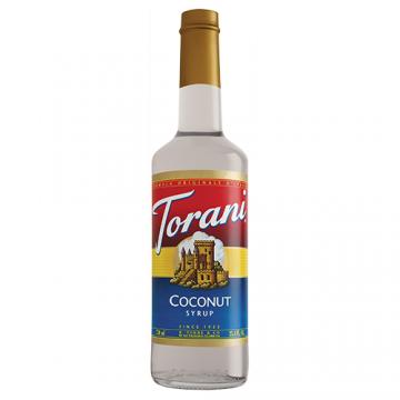 Torani Coconut Syrup (750 mL), G-Coconut