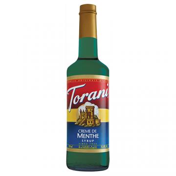 Torani Creme de Menthe Syrup (750 mL), G-Creme De Menthe
