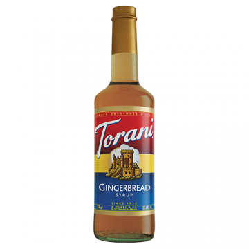 Torani Gingerbread Syrup (750 mL), G-Gingerbread