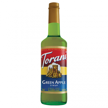 Torani Green Apple Syrup (750 mL), G-Green Apple