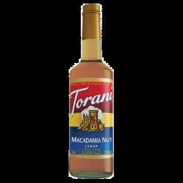 Torani Macadamia Nut Syrup (750 mL), G-Macadamia Nut
