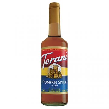 Torani Pumpkin Spice Syrup (750 mL)