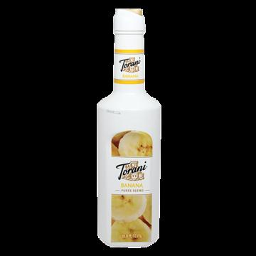 Torani Banana Puree Blend (1L), G-Puree Blend (Banana), 1L