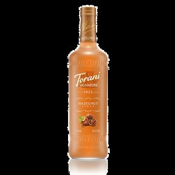 Torani Signature Hazelnut Syrup (750 mL), G-Signature, Hazelnut