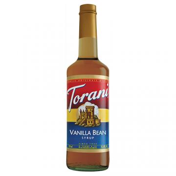 Torani Vanilla Bean Syrup (750 mL), G-Vanilla Bean