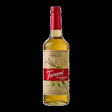 Torani Puremade Vanilla Syrup - 750mL