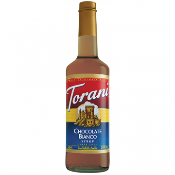Torani White Chocolate Syrup (750 mL), G-White Chocolate