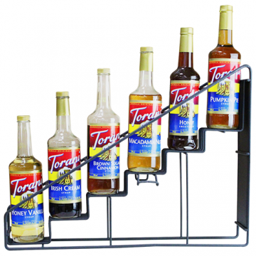 Torani Syrup Wire Rack (6 Bottles), G-WireRack6