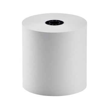 """Karat 3"""" x 165' Bond Paper Rolls - White - 50 ct"""
