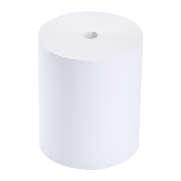 """Karat 3 1/8"""" x 220' White Thermal Paper Rolls - 50 ct"""