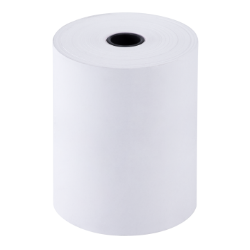 "Karat 3 1/8"" x 220' Thermal Paper Rolls - White - 50 ct"