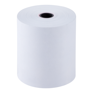 "Karat 3 1/8"" x 273' Thermal Paper Rolls - White - 50 ct"